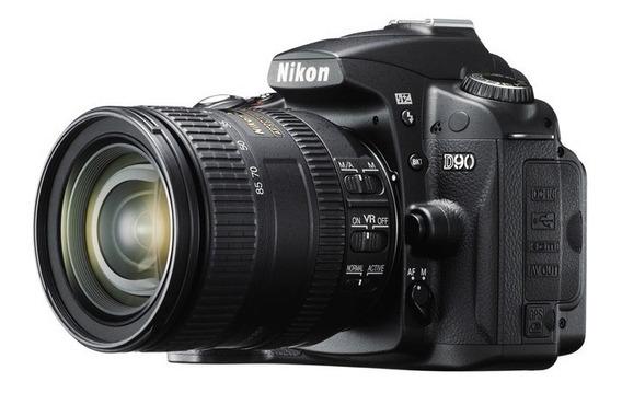 Nikon D90 Corpo + Lente + Memoria + Mochila + Manual