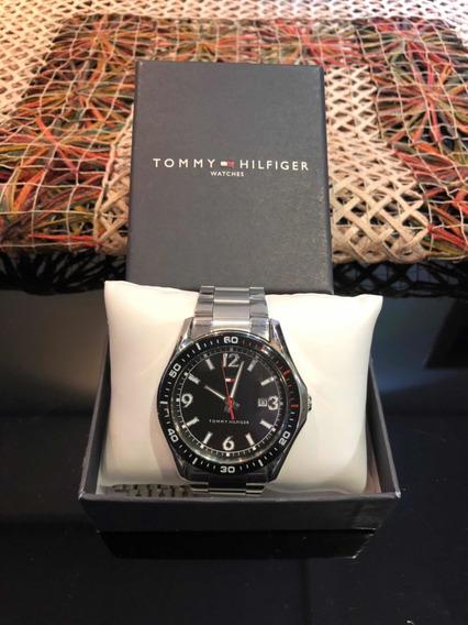 Relógio Tommy Hilfiger Pulseira Em Aço Original Pouco Uso
