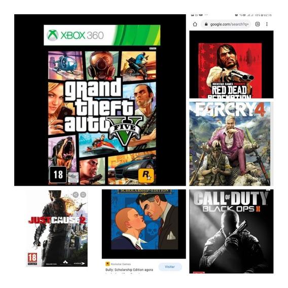 Combo De 6 Jogos Em Midia Digital, Leia A Descrição