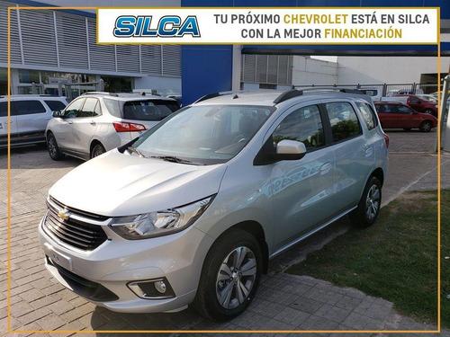 Chevrolet Spin Ltz Entrega Inmediata 2021 Gris Plata 0km