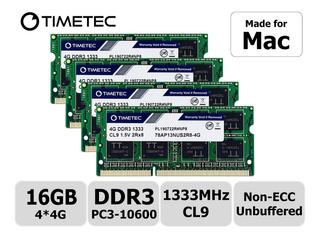 Timetec Hynix Ic - Kit De 16 Gb (4 X 4 Gb) Compatible Con Ap