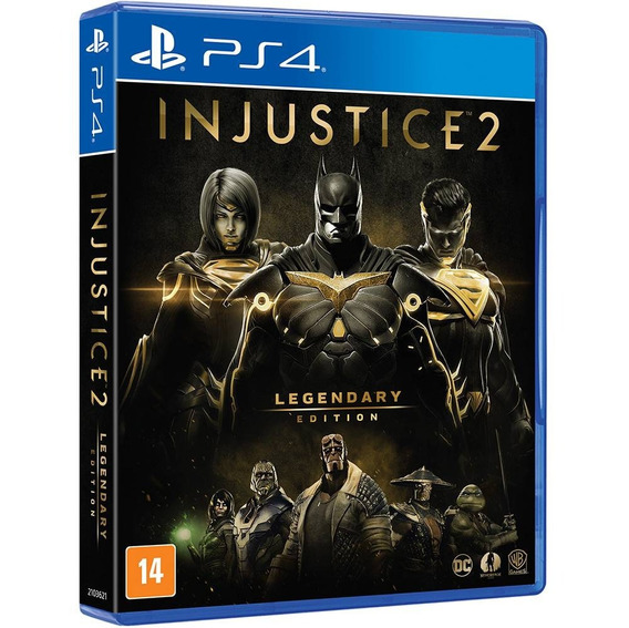 Jogo Injustice 2 - Legendary Edition (novo) Ps4