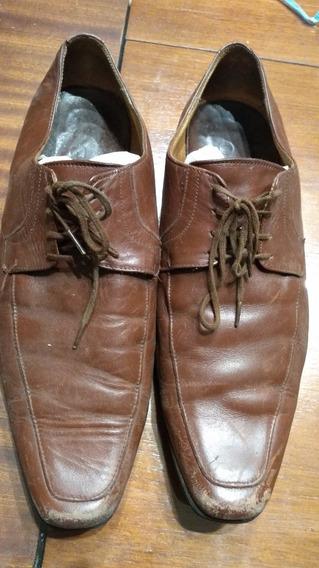 Zapatos De Hombre Marrones Nro 41