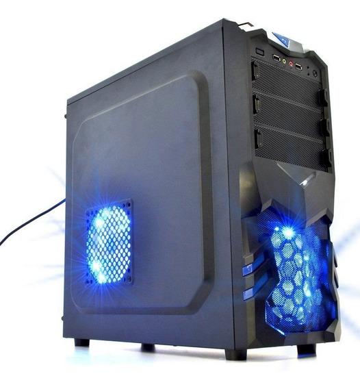 Gabinete Gamer Usb Frontal Cl-g31b Visutec