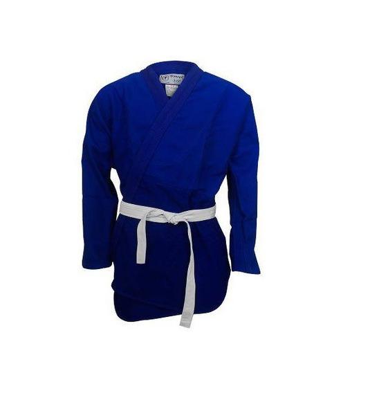 Kimono Combate Kids Judo / Jiu Jitsu Torah Azul Jr