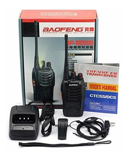Handy Walkie Talkie Baofeng Bf888 +manos Libres.zona Pocitos