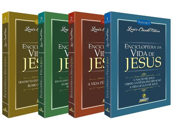 Enciclopédia Da Vida De Jesus - 4 Volumes