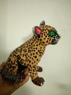 Alebrije Artesanal Pequeño Jaguar