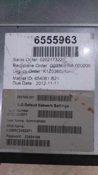 Servidor Hp Dl 360 P Gen 8 3,5 Tb