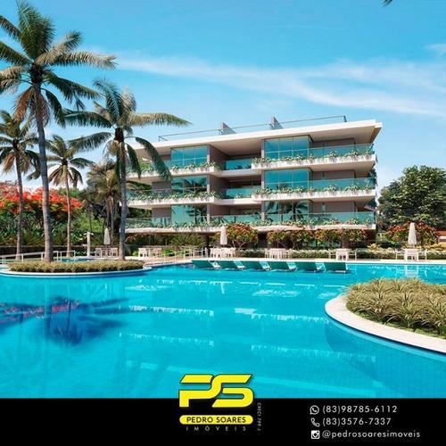 Apartamento Com 1 Dormitório À Venda, 69 M² Por R$ 391.548 - Ponta Do Seixas - João Pessoa/pb - Ap3105