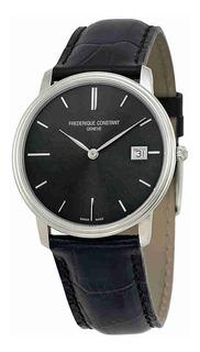 Frederique Constant Slim Line Sunray Negro Reloj Fc-220ng4s6