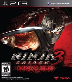 Jogo Ninja Gaiden 3 - Razor´s Edge (novo) Ps3