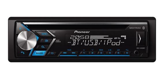 Estéreo Pioneer DEH S4050BT com USB, bluetooth e leitor de cartão SD