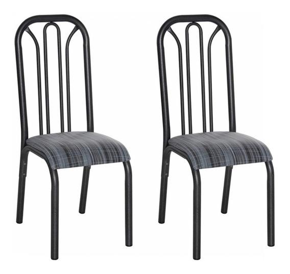 Conjunto 2 Cadeiras Aço Lion Clássica Ciplafe Db