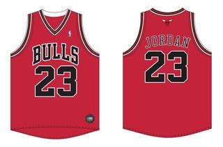 Camiseta Basquet Nba Chicago Bulls Jordan Oficial - Olivos