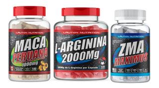 Kit Libido Testosterona Maca Peruana + Zma + L-arginina