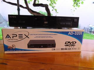 Reproductor De Dvd Marca Apex