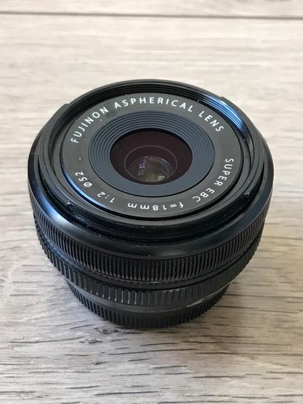Lente Fuji Xf 18mm F2 R