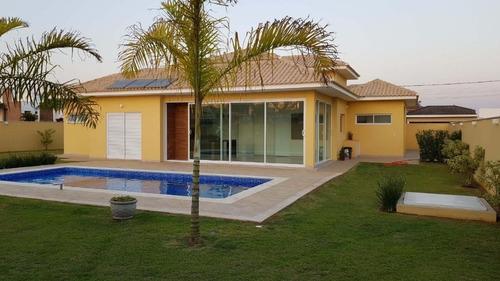 Casa À Venda, 206 M² Por R$ 1.300.000,00 - Condomínio Village Serra - Araçoiaba Da Serra/sp - Ca0685
