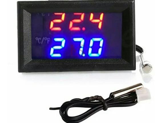Controlador De Temperatura Com Sensor Ntc Prova Dagua 12v