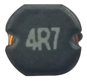 10 Peças Indutor Smd 4r7 4x3 Mm Pequeno Mini 4mm