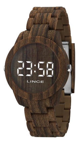 Relógio Lince Feminino Led Mdp4614p Bxnx C/ Garantia E Nf