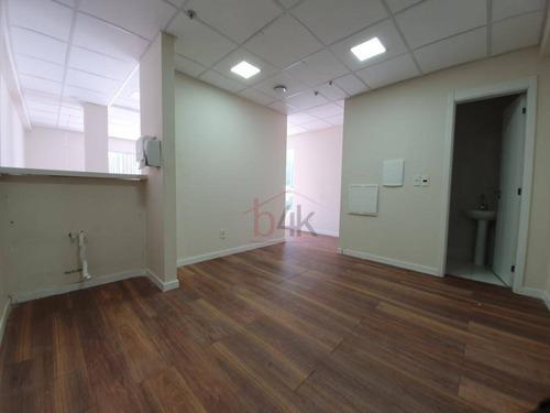 Sala Para Alugar, 51 M² Por R$ 2.600,00/mês - Brooklin - São Paulo/sp - Sa0310