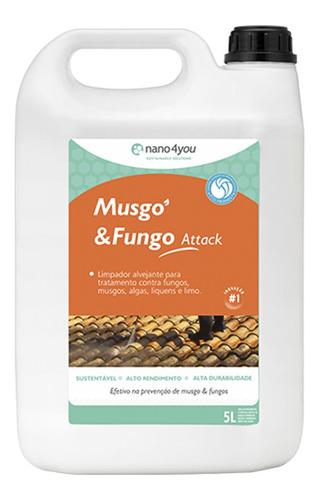 Imagem 1 de 1 de Musgo & Fungo Limpa Áreas C/parasitas E Vegetais Performance