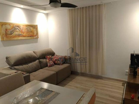Oportunidade!!! Apartamento Com 2 Dormitórios À Venda, 45 M² Por R$ 185.000 - Residencial Real Parque Sumaré - Sumaré/sp - Ap16797