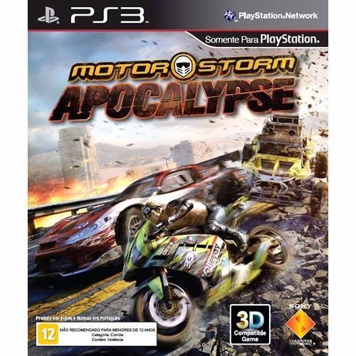 Motor Storm Apocalypse Ps3 - Midia Fisica Original