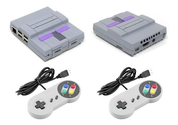 Video Game Retro Snes Raspberry 10257 Jogos 2 Controle Usb