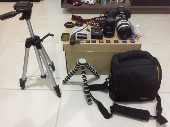 Canon 60d+ Teleobjetiva..