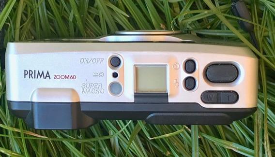 Máquina Analógica Canon C/ Zoom