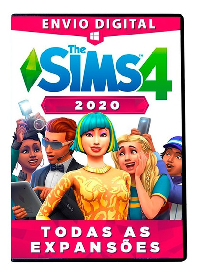 The Sims 4 Pc Digital Todas As Expansões + Dlc Completo 2020