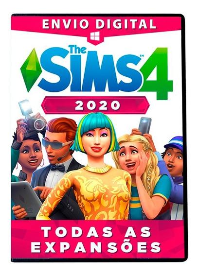 The Sims 4 Pc Digital Todas As Expansões + Dlc Completo 2020