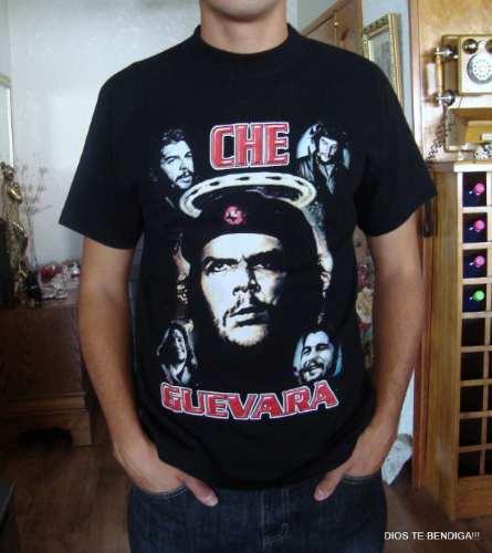 Polera Colombiana Del Che Guevara Tm