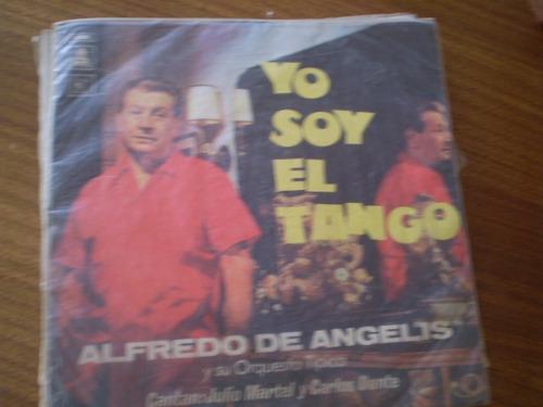 Vinilo Lp  Alfredo  De Angelis -yo Soy El Tango(u1355