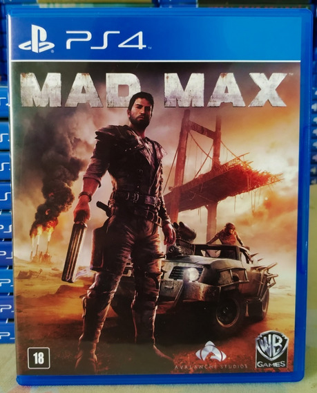 Mad Max Ps4 - Jogo Mídia Física Em Português