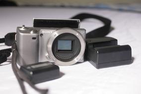 Sony Nex 5 Corpo Menu Em Japonês
