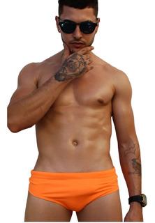 Sunga Wonder - Modelo Slip Orange Fluor