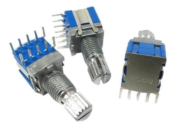 Chave/ Interruptor Rotativo. 1 Polo 5 Posições- 3 Unidades