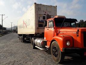 Scania 111 Ano 79, Carreta Para Container De 40 E 20 Ano 83
