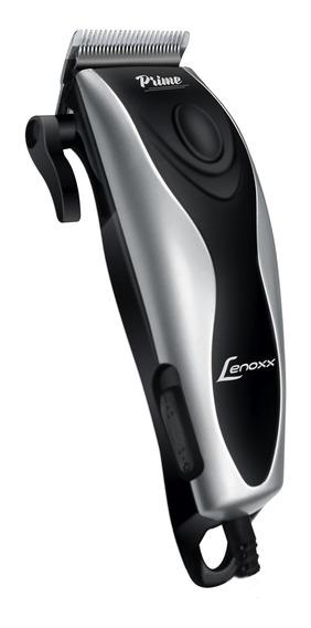 Máquina De Corte De Cabelo Prime Lenoxx 8 Acessórios 127v