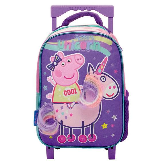 Mochila Carro 12p Peppa Pig Jardin - Sharif Express 062