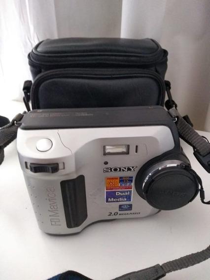 Câmera Sony Mavica - 2.0mp