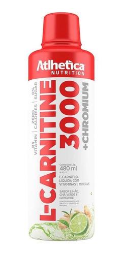 L-carnitine 3000 (480ml) - Atlhetica Nutrition Limão