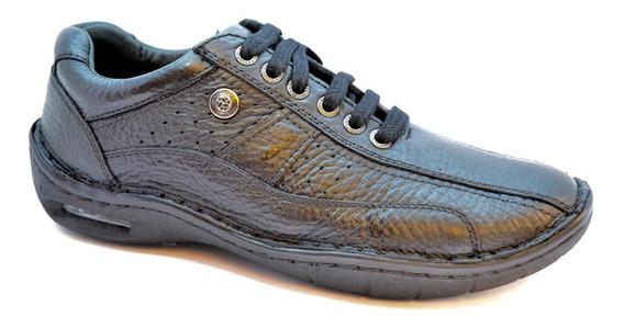 Zapatos Ringo Evolution 11 Acordonado Burbuja Cuero N O Marr