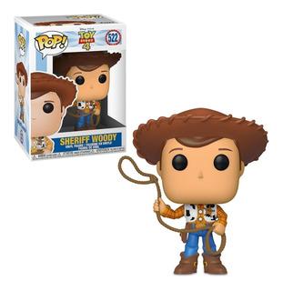 Funko Sheriff Woody 522 Toy Story 4 Disney 100% Original