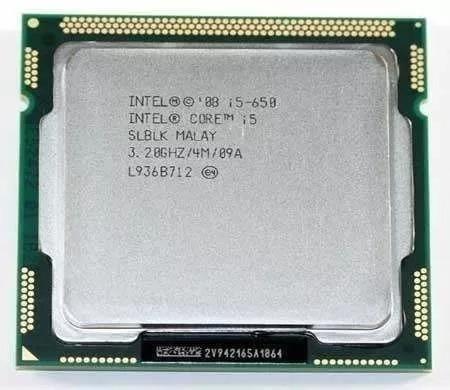 Processador Intel Core I5 650 3.2ghz Lga 1156 4mb Cache Oem