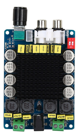 Tda7498 Classe D 2x100w Placa De Amplificador Digital Estére